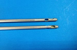 Tri Holes Harvest Cannula with Luer Lock pictures & photos