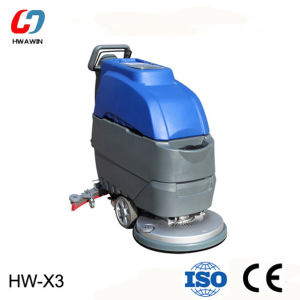 China Hand Push Electric Floor Scrubber For Restaurant Market