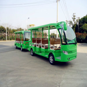 29 Seats Electric Trailer Sightseeing Bus (RSG-128A) pictures & photos