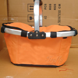 Portable Foldable Shopping Basket Suitable for Promotional pictures & photos