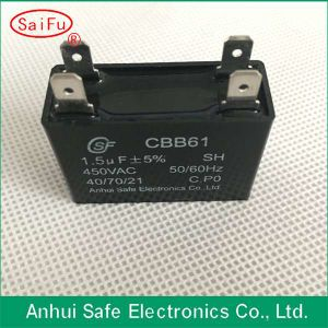 Cbb61 AC Fan Motor Capacitor 4UF 500V 50/60Hz pictures & photos