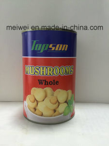 400g Canned Whole Mushrooms in Tin pictures & photos