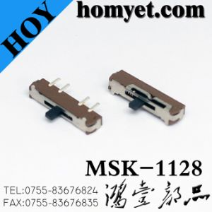 China Manufacturer Slide Switch/Micro Switch (MSK-1128) pictures & photos