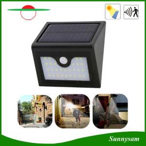 100lm IP65 28LEDs Solar Powered Outdoor PIR Motion Sensor Light pictures & photos