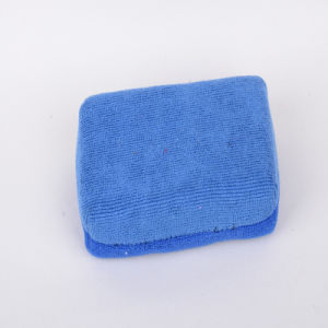 Blue, Ultra-Fine Fiber Cleaning Sponge, Durable, Strong Decontamination, Not Hair Removal, Do Not Fade, Practical, Fresh Color pictures & photos