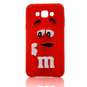 M & M Silicone Mobile Case for iPhone 6s 6plus Cell Phone Accessories (XSR-019)