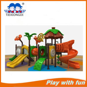 Newest Style Outdoor Plastic Playground for Children pictures & photos