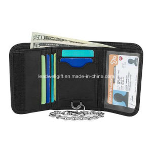Travel Safe ID Accent RFID-Blocking Wallet & Chain for Men pictures & photos