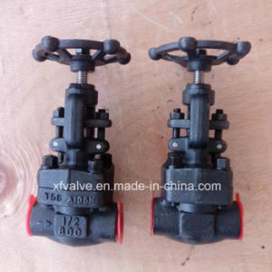 API602 Forged Carbon Steel A105 Socket Welding Globe Valve pictures & photos