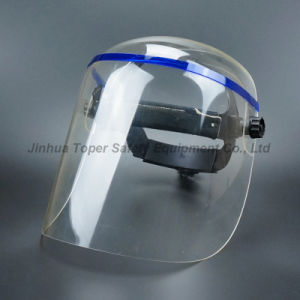 Full Face Large Size Acrylic Material Face Shield (FS4012) pictures & photos