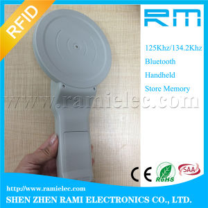 RFID Animal Microchip Scanner /Animal Tag Reader with Fdx-B for Read Animal pictures & photos