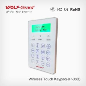 Wireless Keypad with Screen Doubl Way Wireless Password Keypad Cabinet Lock for Setting Alarm System Jp-08c pictures & photos