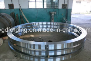 A182 F316 Double Flange Forging Crane Wheel pictures & photos