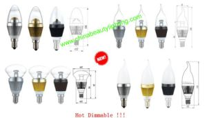 2 Years Warranty Dimmable LED Candle Light LED Bulb pictures & photos
