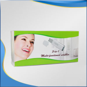 Deep Clean Skin Scrubber Home Use Ultrasonic Machine 3 in 1 pictures & photos