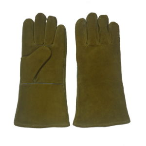 Leather Welding Glove for Welders pictures & photos