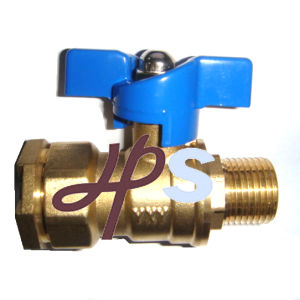 Brass Lockable Ball Valve for HDPE Pipe pictures & photos