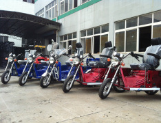 70/110cc Handicapped Tricycle, Three Wheel Motorcycle (DTR-1) pictures & photos