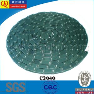 Standard Double Pitch Conveyor Chain with Blue Color C2040 pictures & photos