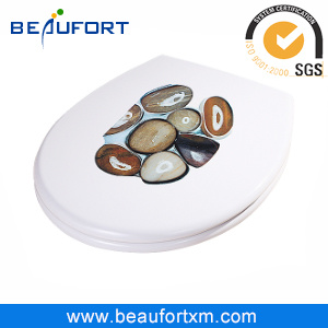 HD Inkjet UF Soft Close Toilet Seat and Cover