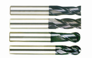 Solid Carbide End Mills-Ball Nose pictures & photos