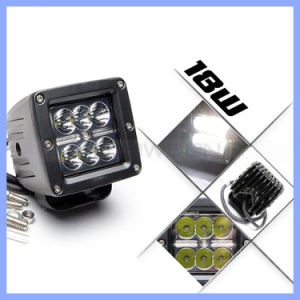 for Car Motorcycle 18W CREE 6 LED Work Light pictures & photos