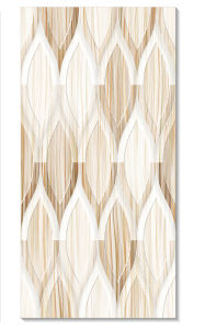 Light Color Glossy Polished Ceramic Wall Tile for Bathroom pictures & photos