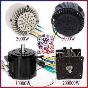 CE Powerful 3kw- 20kw Brushless DC Light Weight Electric Car Motor pictures & photos