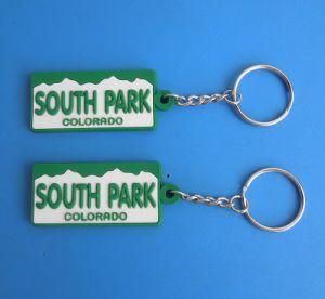 Personalized South Park Colorado PVC Keychain pictures & photos