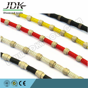 Plastic Diamond Wire Saw for Granite Profiling Tools pictures & photos