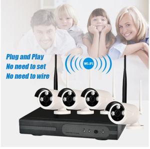 4CH 720p WiFi IP CCTV Securigty Kit NVR System Camera pictures & photos