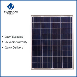 Yuanchan 80W Poly Solar Panel with Low Price and High Quality pictures & photos