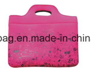 Printing Custom Neoprene Computer/Laptop Bag/Backpacks for Women pictures & photos