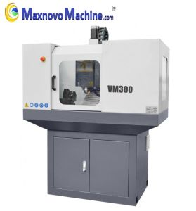 CNC Mini Milling Machine with Mach3 Control System (mm-VM300) pictures & photos