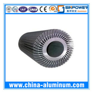 OEM Sunflower Heat Sink Aluminium Extrusions Profile