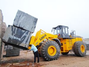 Stone Block Forklift Loader Heavy Machinery pictures & photos