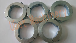 Zinc Coated Steel Double Split Shaft Clamping Collar pictures & photos