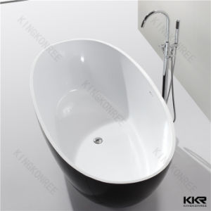 Kkr Australia Popular Oval Shape Stone Resin Bath Tub pictures & photos