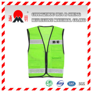 Yellow High Visibilit Motorcycle Reflective Vest (vest-2) pictures & photos