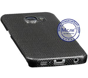 Best Selling High Quality Glossy 1.5k Real Carbon Fiber Back Case for Samsung Galaxy S6 Edge pictures & photos