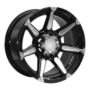 Polich Spokes Large Cap Alloy Wheels pictures & photos