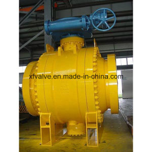 ANSI Standard Cast Steel Flange Ball Valve pictures & photos