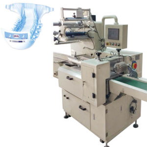 Disposable Trial Pack Baby Diapers Tissue Packing Making Machine pictures & photos