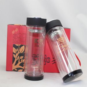 Bulk 20oz Glass Water Bottle with PP Lid for Sale pictures & photos