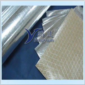 Reflective Perforated Foil Scrim Kraft Paper for Packaging pictures & photos