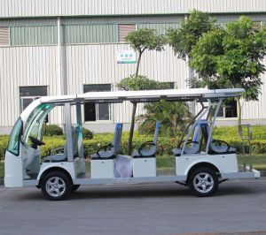 CE Approved Electric 14 Seat Sightseeing Car (DN-14) pictures & photos