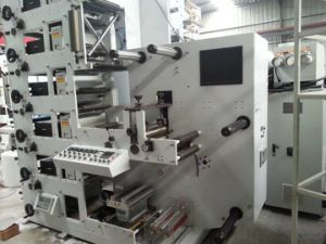 Flexo Printing Machine for Paper, Adhesive Labels, Film, Paper Cup pictures & photos