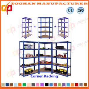 Corner Metal Display Pallet Supermarket Shelf Rack (ZHr380) pictures & photos