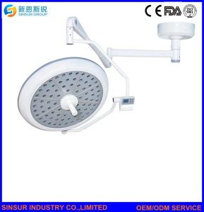 Hight Qualified Hospital Shadowless Two Heads Ceiling LED Operation Lamp/Light pictures & photos