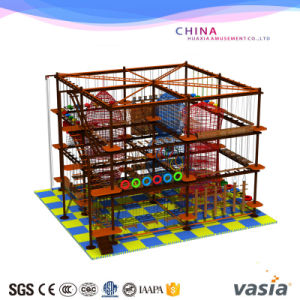 2016 New Design Kids Rope Course Climbing Playground pictures & photos